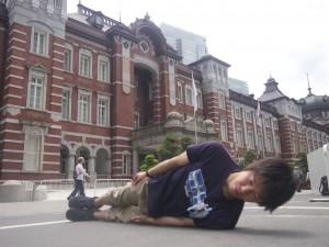 東京駅にて。横不動×東京駅