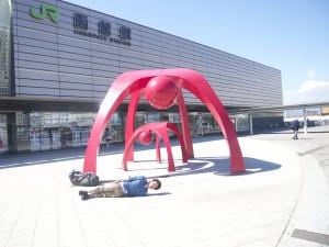 北海道函館にて。横不動×アート