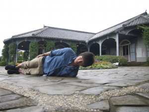 長崎県グラバー園にて。横不動×グラバー邸
